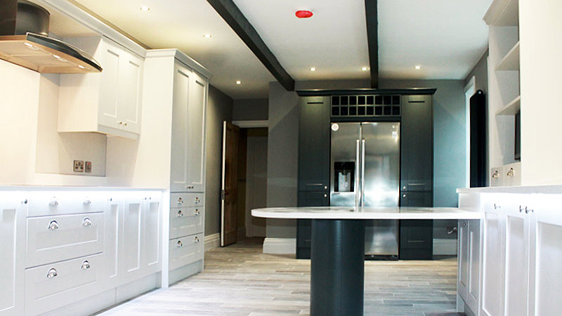 belfast kitchen refurb